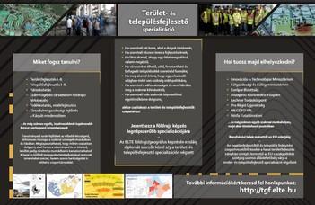 Terület- és településfejlesztő specializáció
